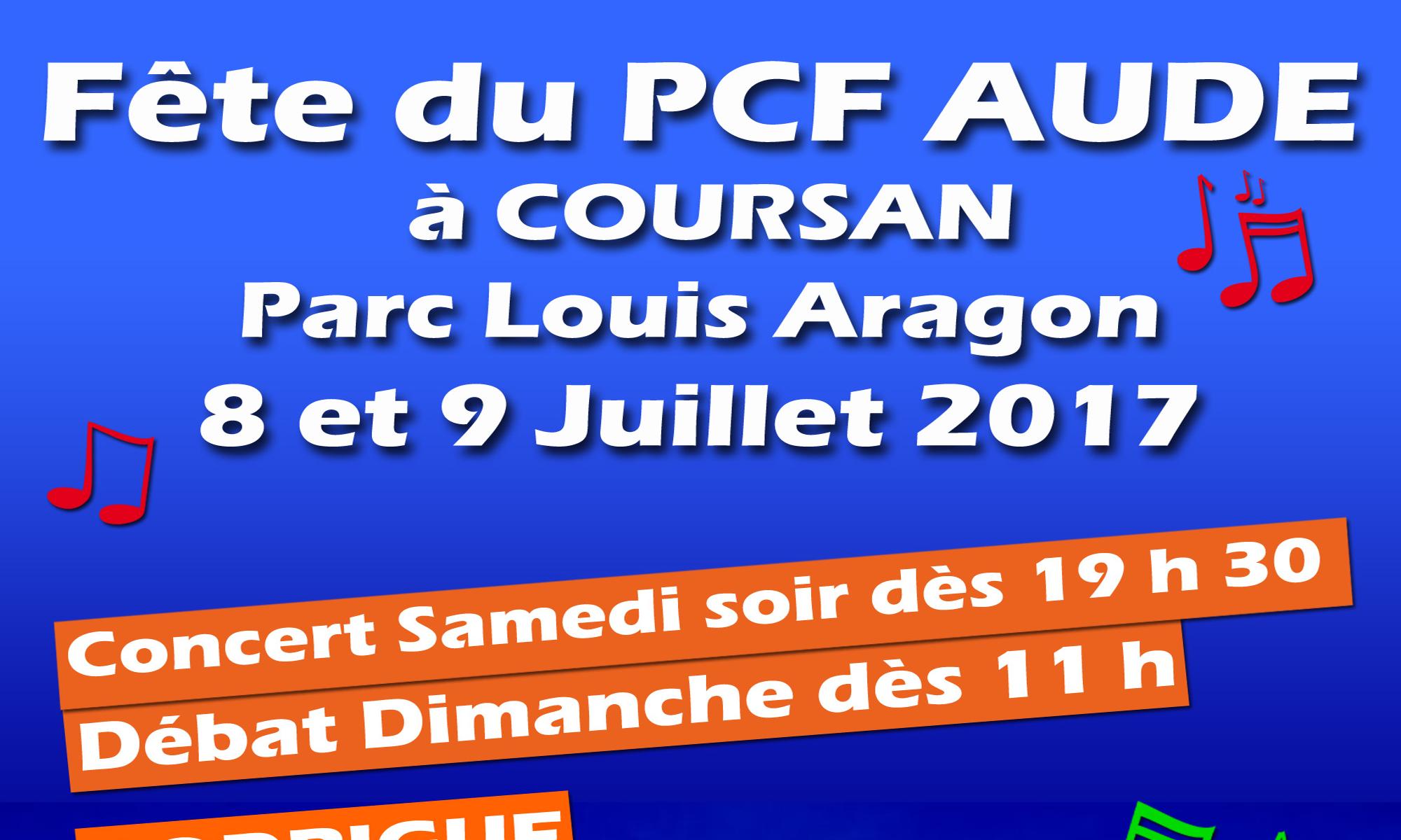 Fête PCF Aude